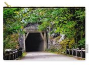 The Tunnel On The Scenic Route Carry-all Pouch