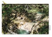 The Turquoise Waters Of The Forest River No2 Carry-all Pouch