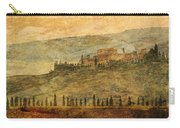 The Tuscan Landscape Near Pienza Carry-all Pouch