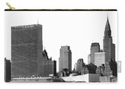 The Un And Chrysler Buildings Carry-all Pouch