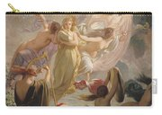 The Undines Or The Voice Of The Torrent Carry-all Pouch by Ernest Augustin Gendron
