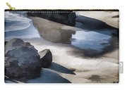 The Unexplored Beach Painted Carry-all Pouch