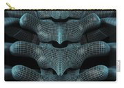The Upper Spine Wireframe Carry-all Pouch