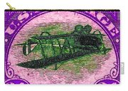 The Upside Down Biplane Stamp - 20130119 - V2 Carry-all Pouch
