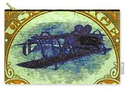 The Upside Down Biplane Stamp - 20130119 - V3 Carry-all Pouch