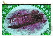The Upside Down Biplane Stamp - 20130119 - V4 Carry-all Pouch