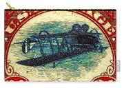 The Upside Down Biplane Stamp - 20130119 Carry-all Pouch