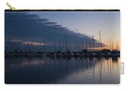 The Urge To Sail Away - Violet Sky Reflecting In Lake Ontario In Toronto Canada Carry-all Pouch