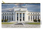 The Us Federal Reserve Board Building Carry-all Pouch by Susan Candelario