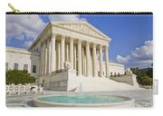The Us Supreme Court Building Carry-all Pouch