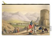 The Valley Of Maidan, From Sketches Carry-all Pouch