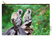 The Vervet Monkey. Lake Manyara. Tanzania. Africa Carry-all Pouch