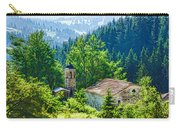 The Village Church - Impressions Of Mountains And Forests Carry-all Pouch