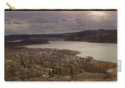 The Village Of Cold Spring And The Hudson River Carry-all Pouch