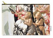 The Virgin And Child With Saint John And Angels Carry-all Pouch