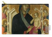 The Virgin And Child With Six Angels Carry-all Pouch