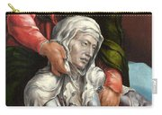 The Virgin And Saint John The Evangelist Carry-all Pouch
