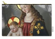 The Virgin And The Child With The Parrot Carry-all Pouch