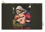 The Virgin And The Green Cushion Carry-all Pouch