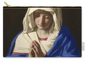 The Virgin In Prayer Carry-all Pouch
