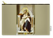 The Virgin The Baby Jesus And Saint John The Baptist Carry-all Pouch