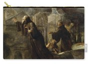 The Vision Of St Francis Of Paola Carry-all Pouch