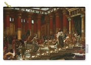 The Visit Of The Queen Of Sheba To King Solomon Carry-all Pouch