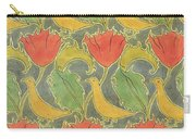 The Voysey Birds Carry-all Pouch