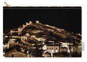The Walls Of Albarracin In The Summer Night Spain Carry-all Pouch