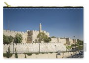 The Walls Of Jerusalem Old Town Israel Carry-all Pouch
