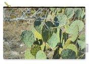 Cedar Park Texas Prickly Pear Cactus Carry-all Pouch