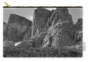 209619-bw-the Watchtower, Wind Rivers Carry-all Pouch