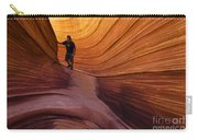 The Wave Beauty Of Sandstone 1 Carry-all Pouch