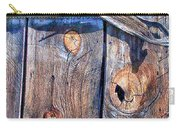 The Weathered Abstract From A Barn Door Carry-all Pouch