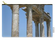 The Western Pediment Of The Tetrapylon Carry-all Pouch by Tracey Harrington-Simpson