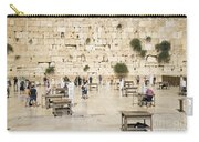 The Western Wall In Jerusalem Israel Carry-all Pouch