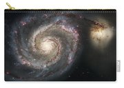 The Whirlpool Galaxy M51 And Companion Carry-all Pouch by Adam Romanowicz