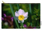The White And Yellow Daffodil Carry-all Pouch