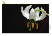 The White Form Of Lilium Martagon Named Album Carry-all Pouch