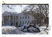 The White House In Winter Carry-all Pouch