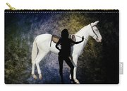 The White Mule Carry-all Pouch