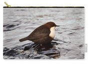 The White-throated Dipper Carry-all Pouch