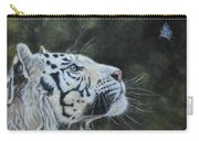 The White Tiger And The Butterfly Carry-all Pouch