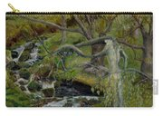 The Willow Woman Washing Her Hair Carry-all Pouch