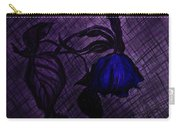 The Wilted Blue Rose Carry-all Pouch