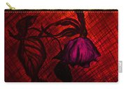 The Wilted Pink Rose Carry-all Pouch