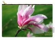 The Windblown Pink Magnolia 1 - Flora - Tree - Spring - Garden Carry-all Pouch