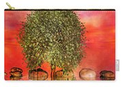 The Wishing Tree One Of Two Carry-all Pouch by Betsy Knapp