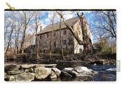 The Wissahickon Creek And Mather Mill Carry-all Pouch