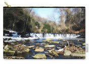 The Wissahickon Creek In February Carry-all Pouch